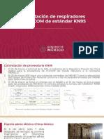 SRE Respiradores Powecom estándar KN95, 09abr20