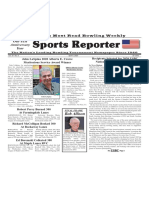 April 9, 2020  Sports Reporter
