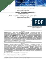 Reiki como pratica integrativa e complementar_ uma revisão integrativa. Reiki as integrative practice and supplementary_ an integrative review