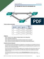 Práctica de laboratorio- Armado de una red conmutada con enlaces redundantes
