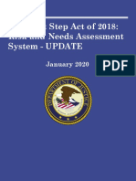The First Step Act of 2018 Risk and Needs Assessment System-updated