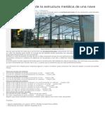 Predimensionado de la estructura metálica de una nave.pdf