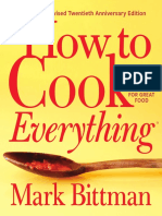 How To Cook Everything Mealplan