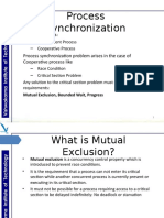 Mutual Exclusion in Distributed Computing