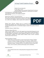 AmeriCorps Volunteer Position Description