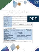 Guía de actividades y rúbrica de evaluación - Pre tarea (1)