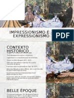 Impressionismo e Expressionismo
