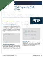 Some Common MATLAB Programming Pitfalls.pdf