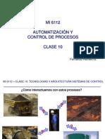 MI6112 Clase 10 Tecnolog as Y Arquitectura de Sistemas de Control Jueves 25-05-2017