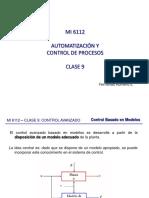 MI6112 Clase 09 Control Avanzado III Jueves 11-05-2017