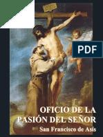 Folleto Oficio de La Pasión - San Francisco de Asís