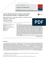 Educational identity and academic achievement (2016)