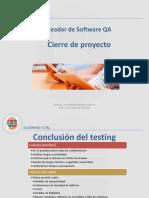 Testeador de Software QA - Unidad 5 - Cierre de proyecto