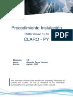 Manual Instalación TNMS Client versión 15 -