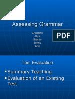 Assessing Grammar.ppt