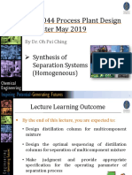 Lecture 6 (May 2019)
