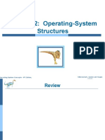 chapter 2 (Operating System Structure)