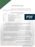 District Gurugram Containment Order