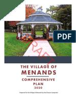 Draft Village of Menands Comprehensive Plan 04-09-2020