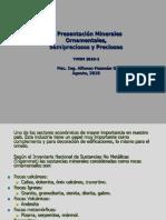 Presentación 6. YMNM 2018-2. Min Ornamentales.. No metál, Semiprec y Prec. Ago, 2018. aehg..pdf