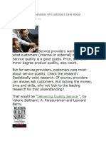 The 5 Service Dimensions All Customers Care About.docx