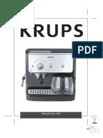KRUPS Expresso XP 2000 Manual