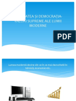 LIBERTATEA ȘI DEMOCRAȚIA-