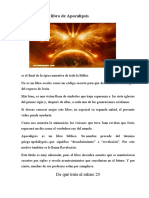 De qué trata el libro de Apocalipsis
