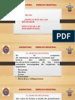 Tema 4A Derecho Registral