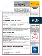 April Library News Student Edition