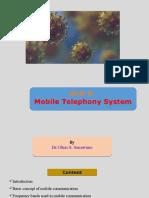 Unit 5 Mobile Telephony9