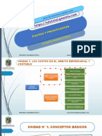 Costos y Presupuesto Udistrital Admon Deportiva Unidad 1 Sección 1