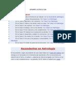 APUNTES ASTROLOGIA