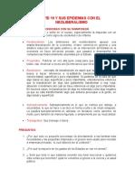 COVID 19 Y SUS EPIDEMIAS CON EL NEOLIBERALISMO