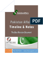 CSS Pakistan Affairs Timeline and Notes.pdf