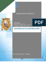 ALCANTARILLADO-introduccion y objetivos
