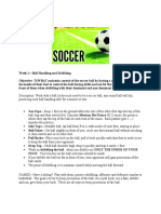 distance learning soccer unit pdf