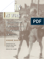 André Bazin, Bert Cardullo - Bazin at Work_ Major Essays and Reviews From the Forties and Fifties (1997, Routledge)