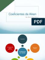 Coeficientes de aiken