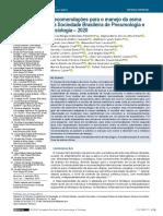 JBP 2020 - Recomendações para o Manejo da Asma da SBPT