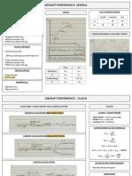 Performance ATPL EASA. Notes