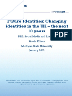 Future identities, Changing identities in the UK - the next 10 years - Nicole Ellison