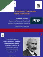 Clase 6 PC11 Aspectos Cognitivos y psicosociales Esquizofrenia