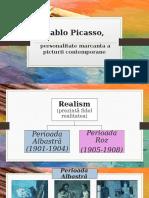 Pablo Picasso - personalitate marcanta a picturii contemporane