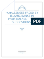 Challenges faced by Islamic Banks in pakistan and their Suggestions
