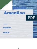 El Agua en La Argentina