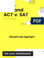 a-g and act v