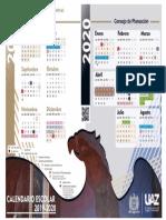 Calendario Oficial 2019-2020