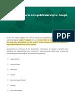M1 Los grandes actores de la publicidad digital Google y Facebook