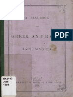 A Handbook for Greek and Roman lace making 1869